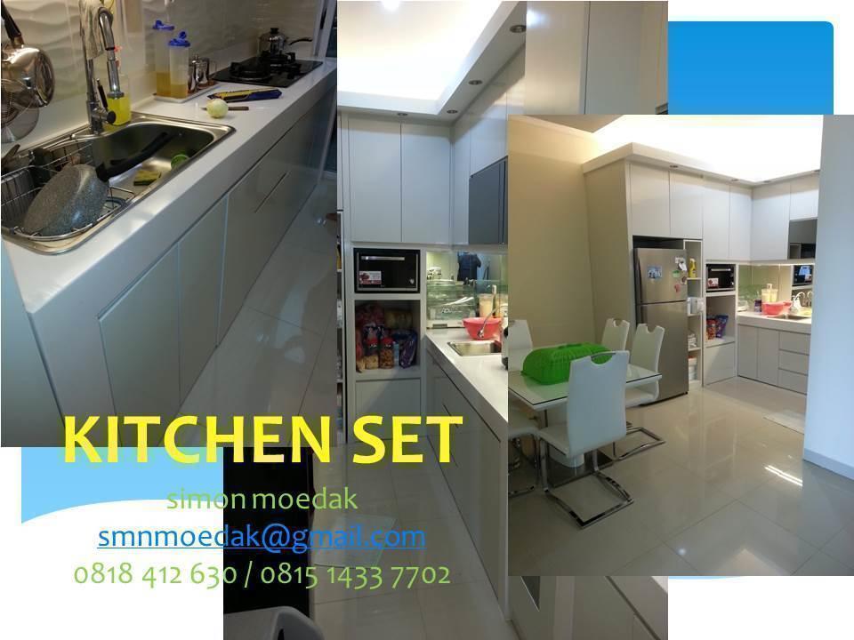 Album Renovasi Rumah Dan Bangun Rumah Baru Plafond Kitchen Set