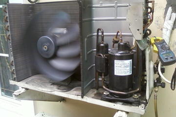 hasil penggantian kompresor