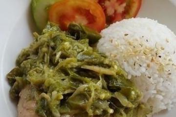 Nasi Ayam Cabe Ijo