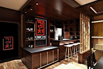 3d interior kimchi korean restaurant surakarata