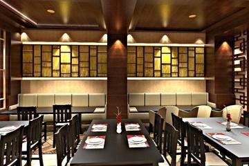 3d interior kimchi korean restaurant surakarata  2
