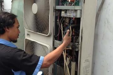 Repair AC Cassete Toshiba
