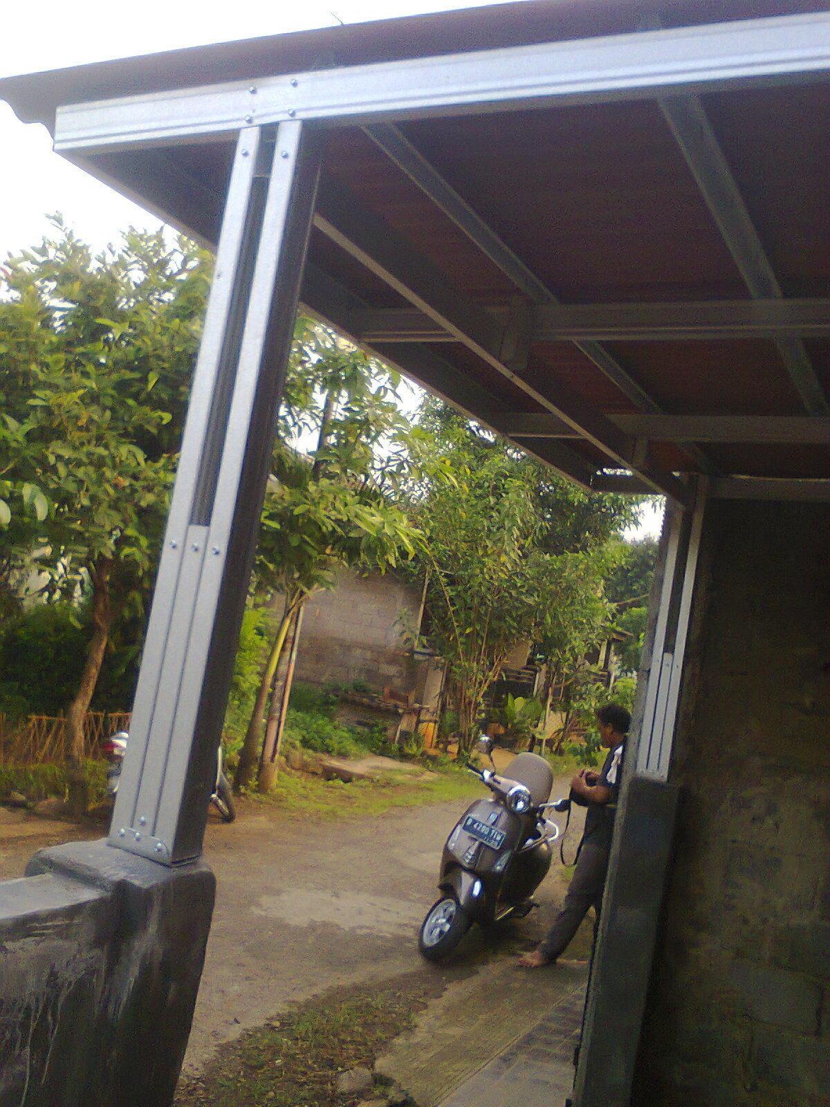 Album Instalasi Kanopi Bogor Dari Dwisy Mitra Constructions