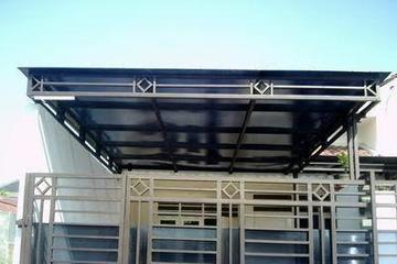 Kanopi Lengkung Atap Polikarbonat Bakosurtanal Jual Kanopi Tralis