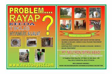 Pest Control, Anti Rayap dan Fumigasi