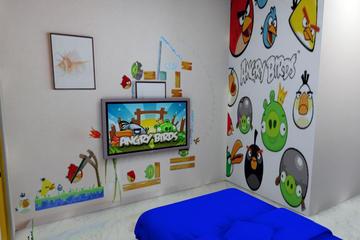 Bedroom Konsep Angry Bird