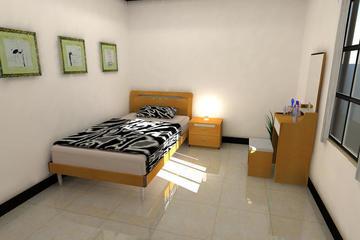 Bedroom Konsep Minimalis