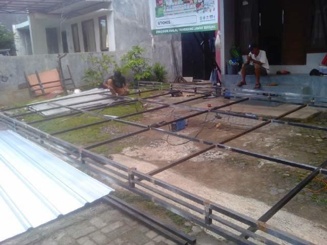 Jasa Las dan konstruksi Baja Ringan 081311479689