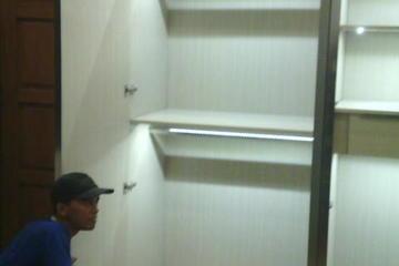 lighting lemari pakaian