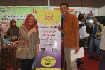 Suasana promosi di Grand City Mall Surabaya