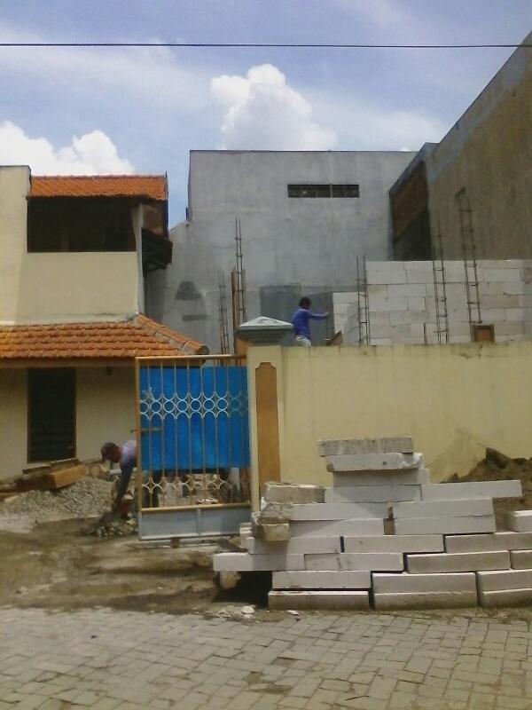 bangunan rumah, renovasi dan perawatan gedung