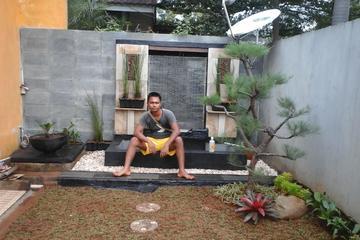 pembuatan taman dan kolam minimalis
