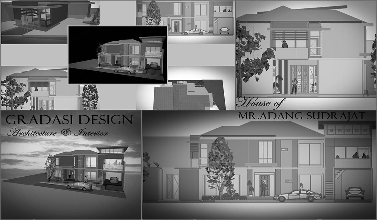 4400 Gambar Rumah Gradasi Terbaru