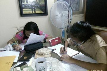 Aylin & Risa, siswa kelas 7 SMPN 103 Jakarta
