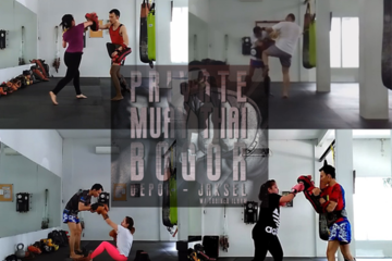 Sesi latihan Private Muay Thai di Legacy