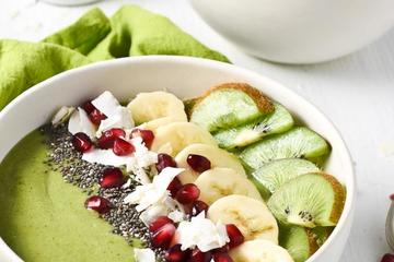 Lean Green Smoothie Bowl
