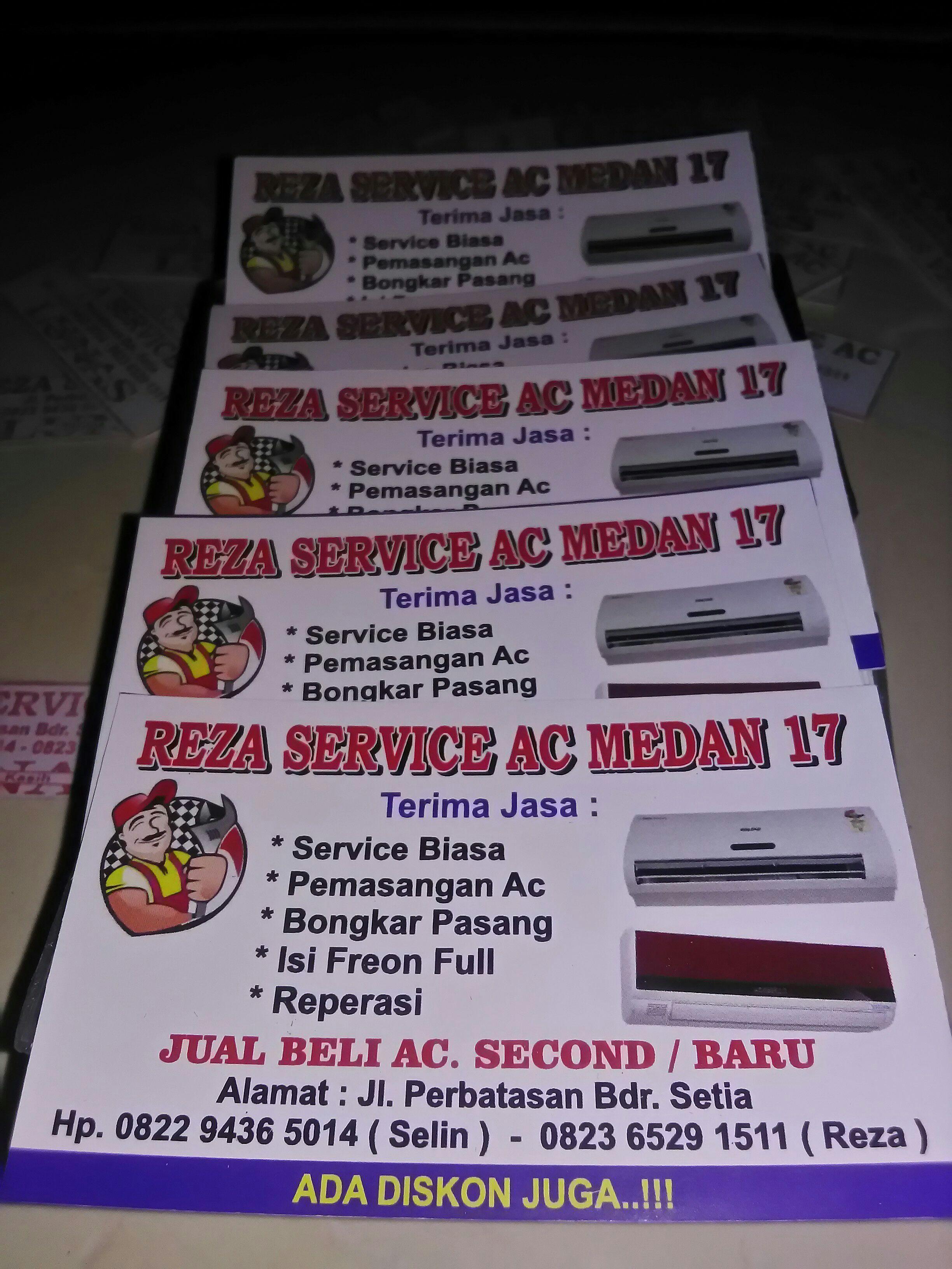 Reza service medan 17