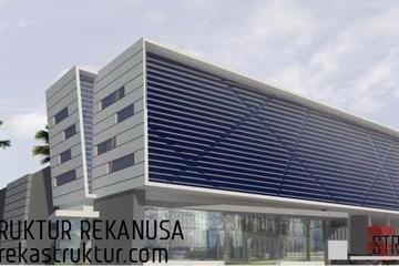 Bangunan dengan multifungsi. Bagian depan bangunan adalah kantor dengan luas 1800 m2. Bangunan belakang dengan luas 1600 m2.