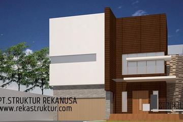 Bangunan rumah tinggal dengan luasan 250 m2