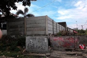 Proyek Pagar Panel Pemagaran  Tanah Asset BNI Cilegon