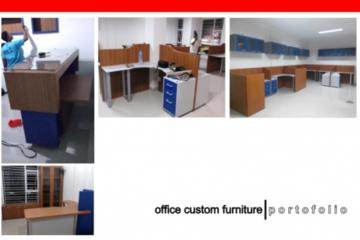 Pembuatan Custom furniture kantor