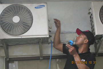 Service AC Outdoor di Nakamura THERAPHY
