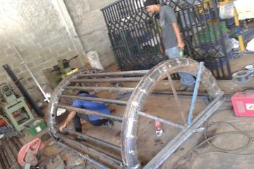 Pembuatan mesin pengering