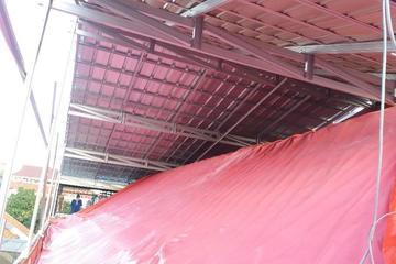Pemasangan atap tanpa bongkar atap lama