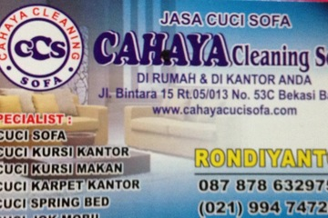 CAHAYA CLEANING