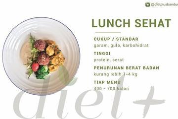 Lunch sehat 20 X dan 10 X (senin - Jumat)