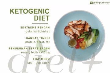 Diet Ketogenik 7 - 12 hari berturut-turut