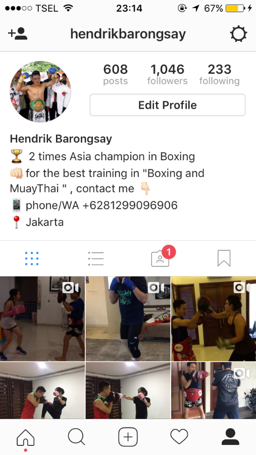 Hendrik Barongsay Boxing & Muaythai Training