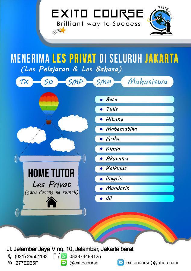 Album Les Privat Guru Datang Ke Rumah Home Tutor Dari Exito