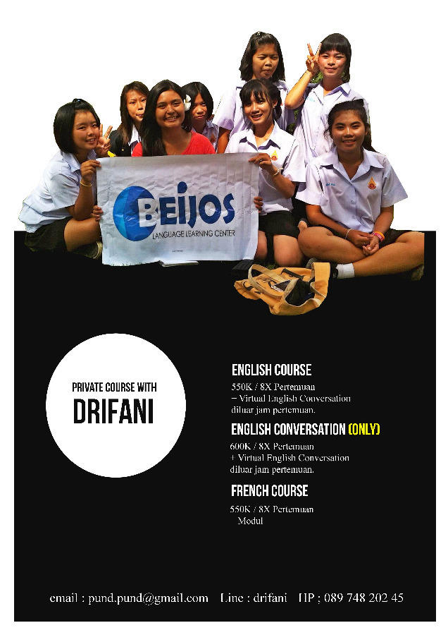 Speak up with tutor Drifani