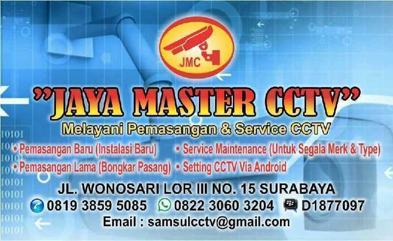 Jaya master cctv ( JMC ) SPECIALIS CCTV All JATIM