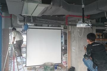 Installasi Screen Motorized
