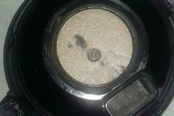 hasil debu yg di hisap dari matras