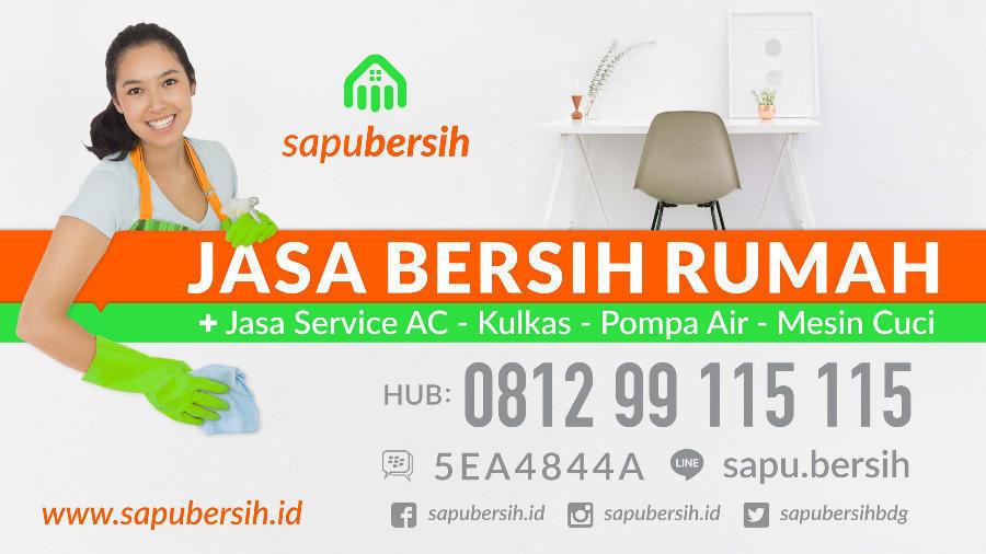 SapuBersih jasa bersih rumah & service elektronik Bandung