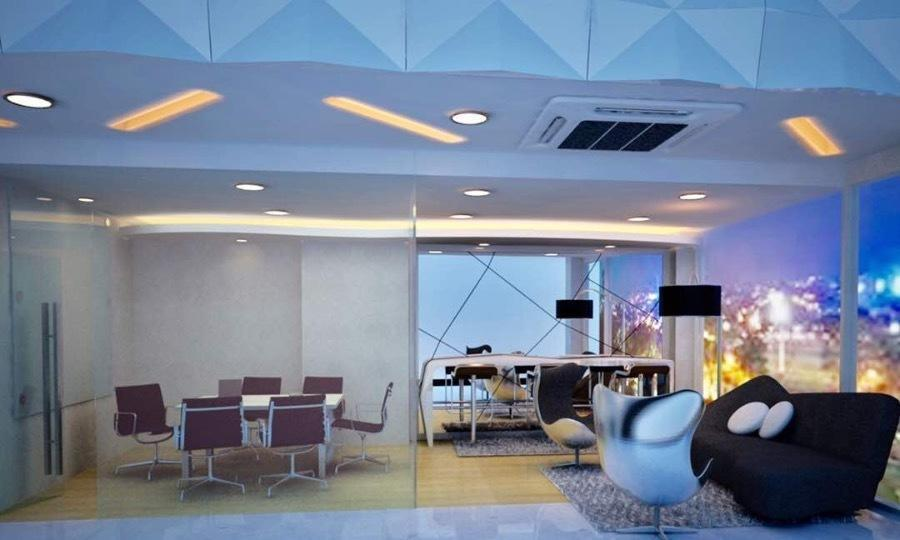Album Futuristic Office Design Dari Grandco Interior Construction