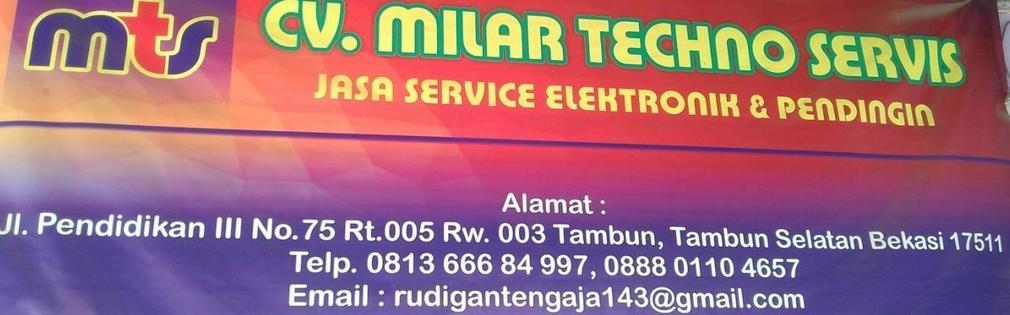 CV.MILAR TECHNO SERVIS
